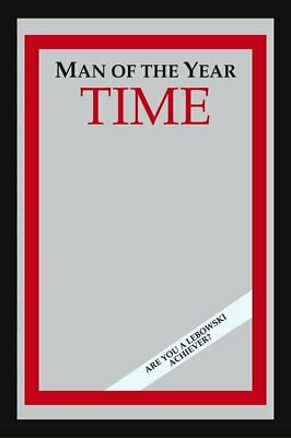"THE BIG LEBOWSKI - XL BAR MIRROR (TIME: MAN OF THE YEAR) (SIZE: 12"" x 16"")"