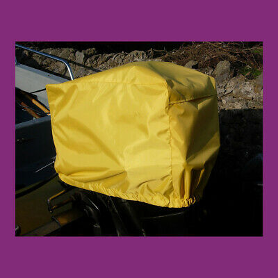 Waterproof Vented Outboard Motor Boat Engine Cover 70-150 HP Size5 White UK Made