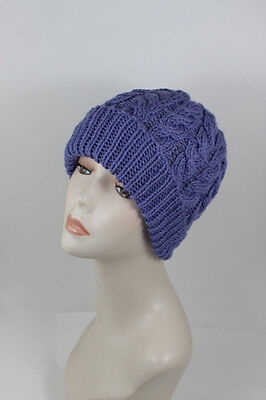 PRINTED INSTRUCTIONS - Chunky Double Twist Cable Beanie Hat