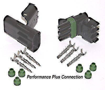 Delphi GM 3 Pin Weatherpack Connector Kit 16-14 AWG - Made in the USA