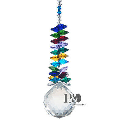 40Mm Ball Hanging Crystal Suncatchers Window Sun Catcher Home Garden Light New