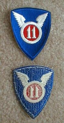 11th Airborne Division WW2 patch (NO Airborne Tab)