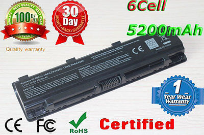 Battery for Toshiba Satellite C50-A C50D-A C50t C55 Replace PA5109U-1BRS