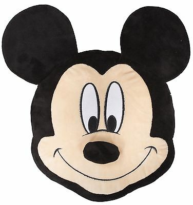 Disney Mickey Mouse Nosey Shaped Embroidered Cushion