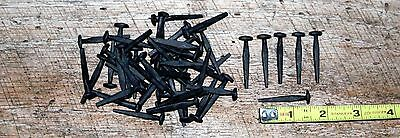 Rose Head Decorative Wrought Iron Rustic Look Cut Nails, 1-1/2'' ( 50 in lot )