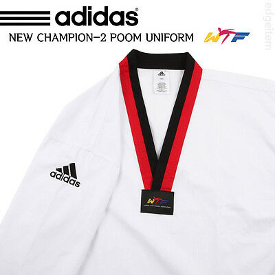 Adidas Poom Taekwondo Uniform CHAMPION 2 WTF Dobok Tae Kwon Do TKD