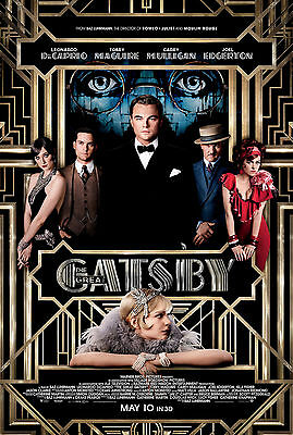 The Great Gatsby Leonardo Dicaprio Giant Poster - A0 A1 A2 A3 A4 Sizes
