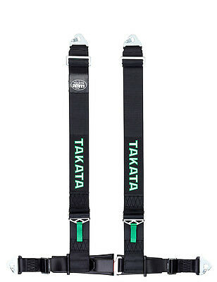 Takata Racing Tuning Harness - Drift III Snap - Black
