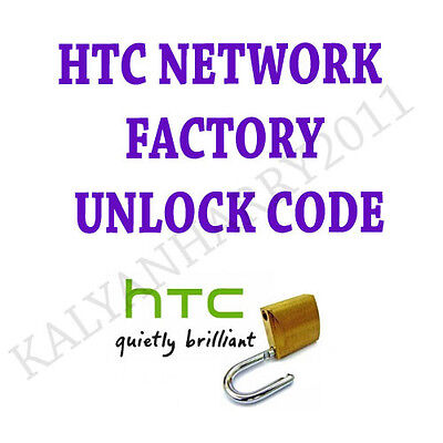 HTC PERMANENT NETWORK UNLOCK CODE FOR AT&T HTC Inspire 4G PD98120 ATT ONLY
