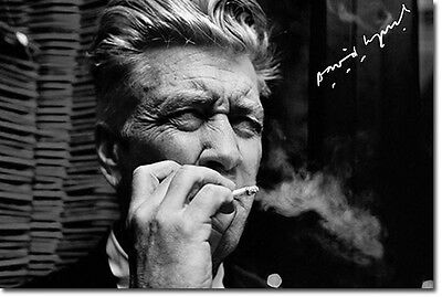 DAVID LYNCH - SIGNED PHOTO PRINT POSTER - TWIN PEAKS - MULHOLLAND DRIVE