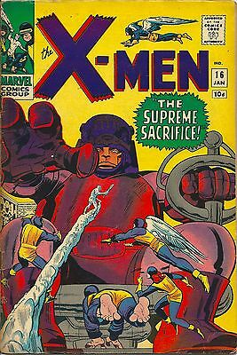 X-Men 16 Marvel Silver Age 1966 The Sentinels