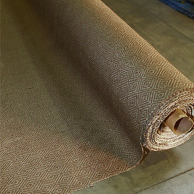Hand Crafted Habitat Natural Sisal Wall To Wall Carpet (12'x98') Cotton Border