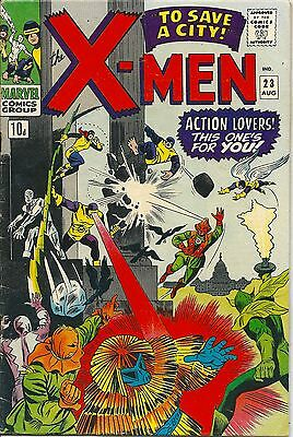 X-Men 23 Marvel Silver Age 1966 To Save A City