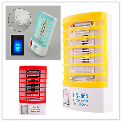 Electric LED Mosquito Fly Insect Night Lamp Killer Repellent 220V Home