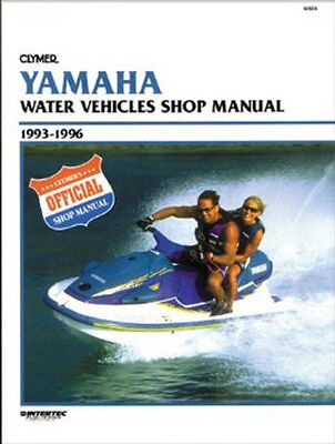 CLYMER - Official Shop Manual Yamaha 1993-1996 - Notice technique