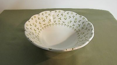 ENGLISH STAFFORDSHIRE STERLING FORGET-ME-NOT J&G MEAKIN ENGLAND 1 SOUP BOWL