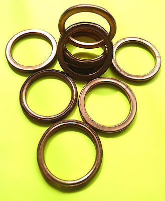 Copper Exhaust Gaskets Seal Manifold Gasket Ring Cb750 Dohc & Sohc Cbx750 F45