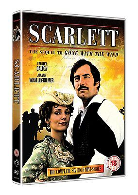 Scarlett: The Complete Mini-Series - DVD NEW & SEALED - Timothy Dalton