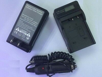 Battery Charger+LCD fòr Canon BP-511/511A EOS 5D 10D 20D 30D 40D 60D 300D CAMERA
