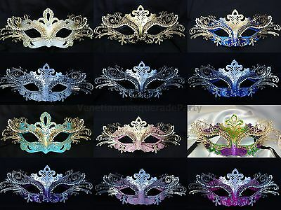 Girls Mardi Gras Venetian Costume Masquerade Ball Mask Prom Party Collection