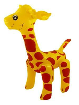 "36"" Giant Inflatable Giraffe Zoo Safari Animal Blow Up Inflate Kids Party Toy"