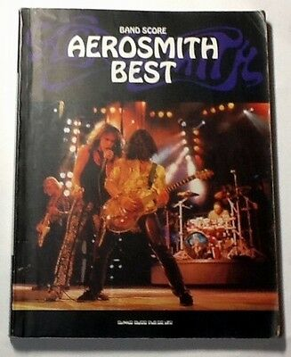 Aerosmith Best Band Score Japan Guitar Tab