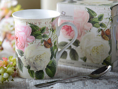 Creative Tops ROSE GARDEN Fine Bone China MUG IN GIFT BOX