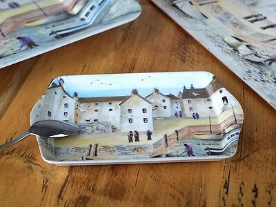 CORNISH HARBOUR Small Melamine SCATTER TRAY By Creative Tops