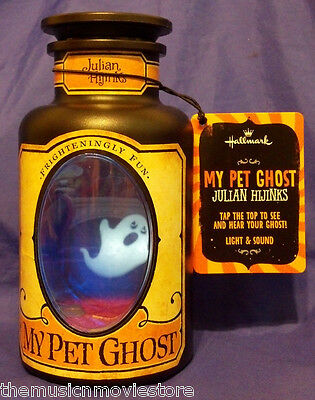 2013 Hallmark My Pet Ghost - Julian Hijinks with Light & Sound - NWT!
