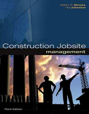 CENGAGE LEARNING 9781439055731 Construction Jobsite Management