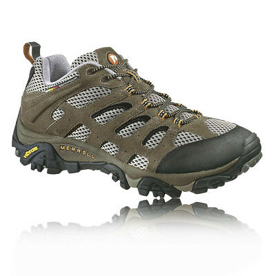 Merrell Moab Ventilator Mens Brown Leather Outdoor Walking Hiking Boots Shoes