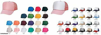 1 Dozen Trucker Baseball Cap Mesh Retro Cap Hat 39 Color Choice Wholesale Lot