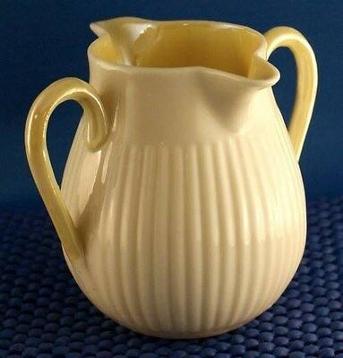 Belleek  Double Handle and Double Spout Cream Jug Third Green Mark