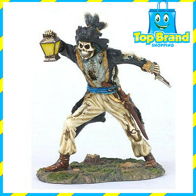 Black Bart Pirate Statue / Figurine Poly Resin 7 inches Tall pirates man cave