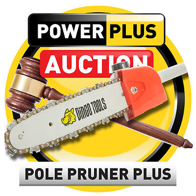 NEW SUPER LONGREACH CHAIN SAW POLE CHAINSAW PRUNER BRUSH CUTTER HEDGE TRIMMER