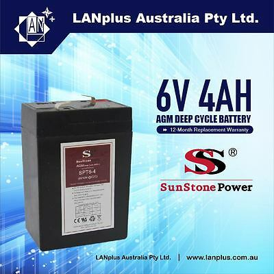 6V 4.0AH SLA Rechargeable battery 6volt Sealed Lead 4ah Toy Electric UPS Alarm