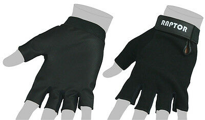 CLEARANCE: New Raptor Sareeno Leather Rugby Grip Gloves Stick Mits/Mitts: XL.