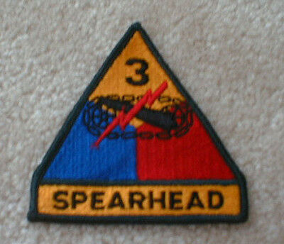 "3rd Armored Division (""Spearhead"") patch"