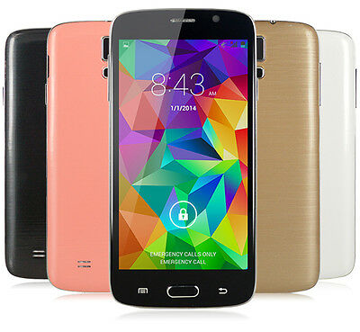 5'' Android Dual Core Unlocked Quad Band 3G+GSM+GPS AT&T WCDMA 4GB Smartphone