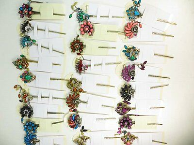 US Seller-$2.85/pc wholesale 12 hairpins decorative hair sticks