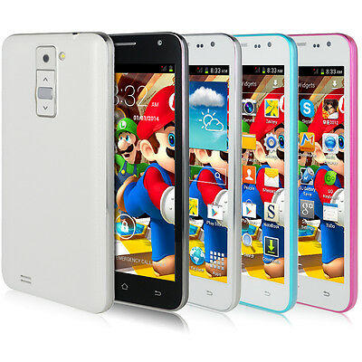 """16G/8G/4G 5"""" Android 4.2.2 2Core GPS IPS Quad Band 2G/3G GSM Unlocked Smartphone"""