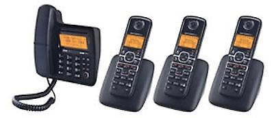 Motorola MOTO-L704C digital corded/cordless combo phone system with answering