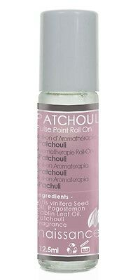 Patchouli Aromatherapy Pulse Point Roll On 12.5ml by Naissance