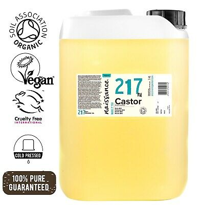 Naissance Castor Certified Organic Cold Pressed Oil 5 Litres
