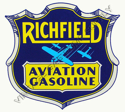"Richfield Aviation 12"" Water Transfer Decal (DW143)"