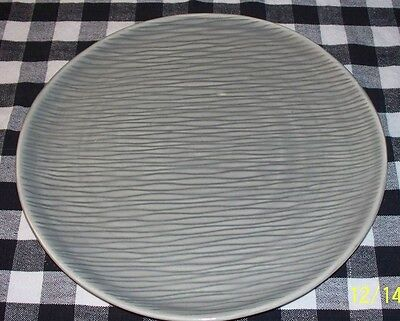 Raymor Steubenville Contempora Grey 10'' Dinner Plate Mid Century Modern