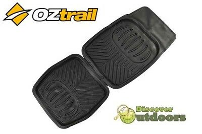 OZTrail Deep Car Mats FULL SET Front & Rear 4WD - Great for Camping