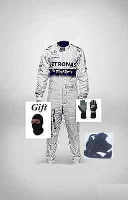 Mercedes AMG kart race suit KIT CIK/FIA level 2 2014 style(free gifts)