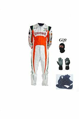 Force india kart race suit KIT CIK/FIA level 2 2013 style(free gifts)
