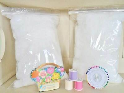 Stuffing Toy Cushion Pillow Filling SUPER SOFT Hypoallergenic PURE Clean BS REGS